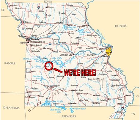Truman Lake Map Directions « Camping at Truman Lake Resort, Warsaw, MO (660) 723 9397