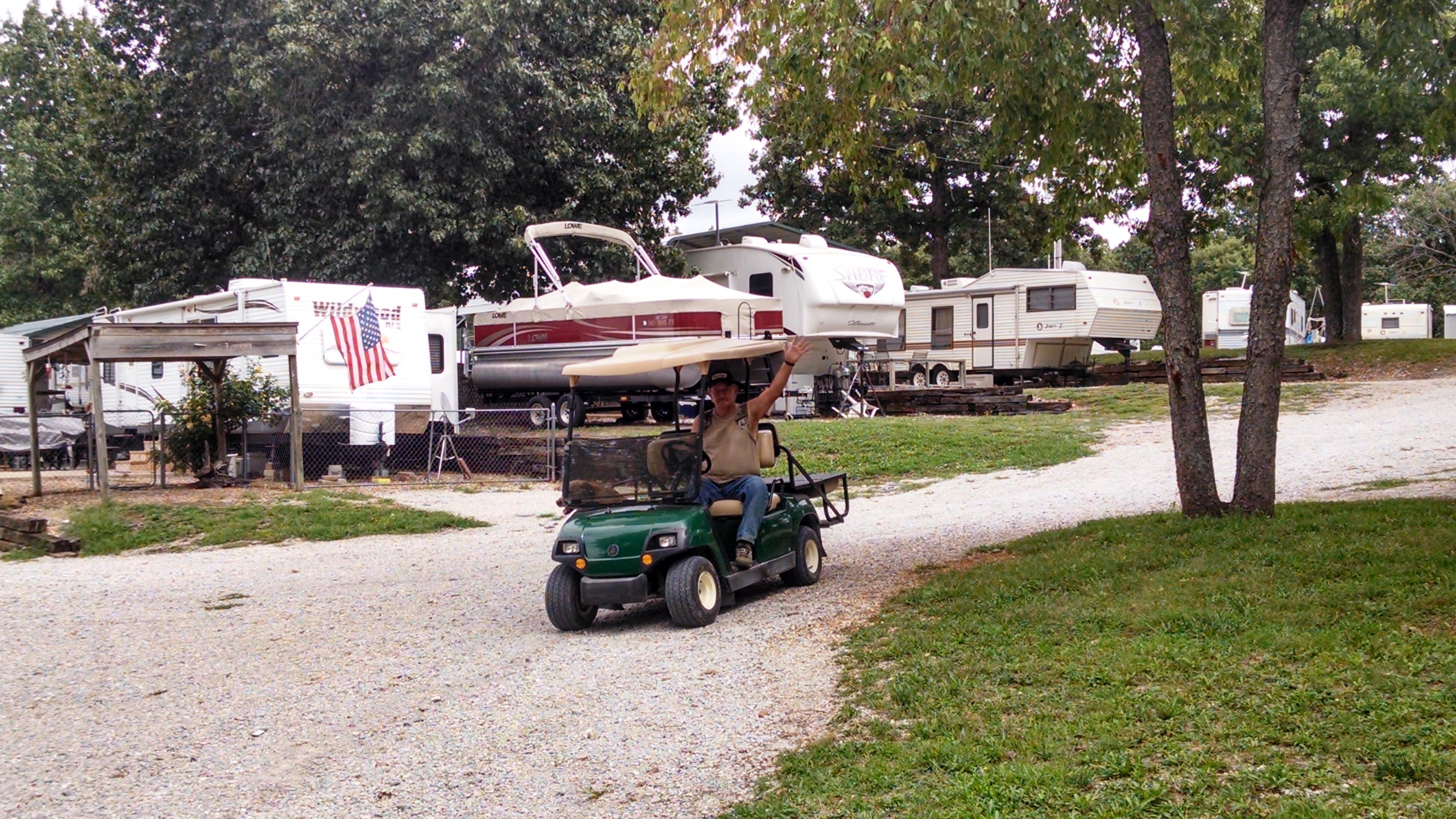 Truman Lake Camping